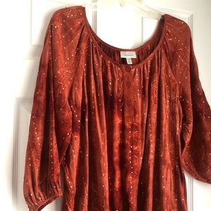 Dress Barn 2x Blouse